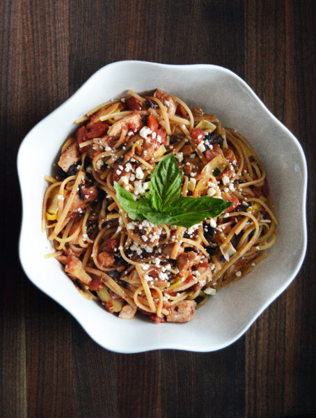 Easy Greek Pasta