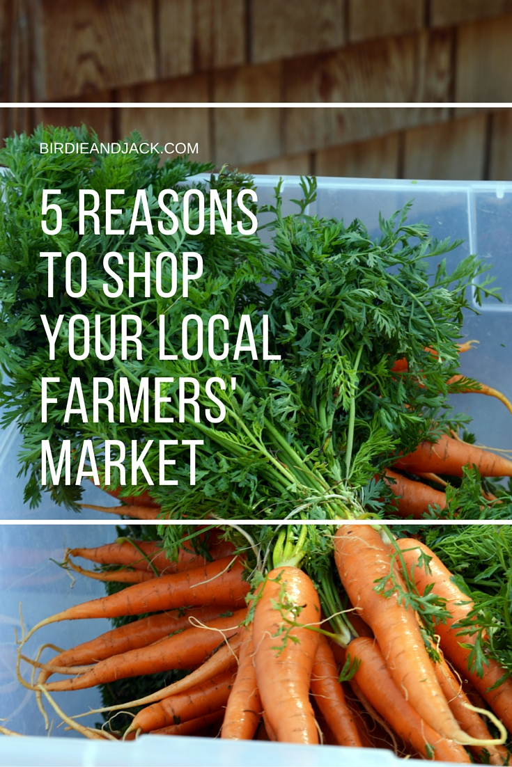 Five Reasons to Shop Your Local Farmers' Market