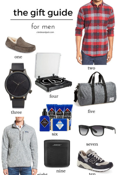 Holiday gift guide for men: The perfect list for the guy in your life