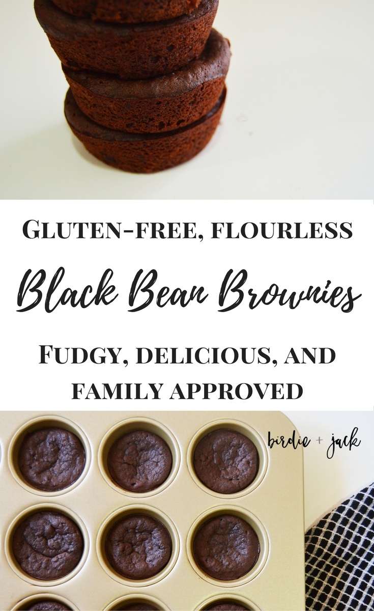 Easy, fudgy, gluten-free, flourless black bean brownies. Need I say more?