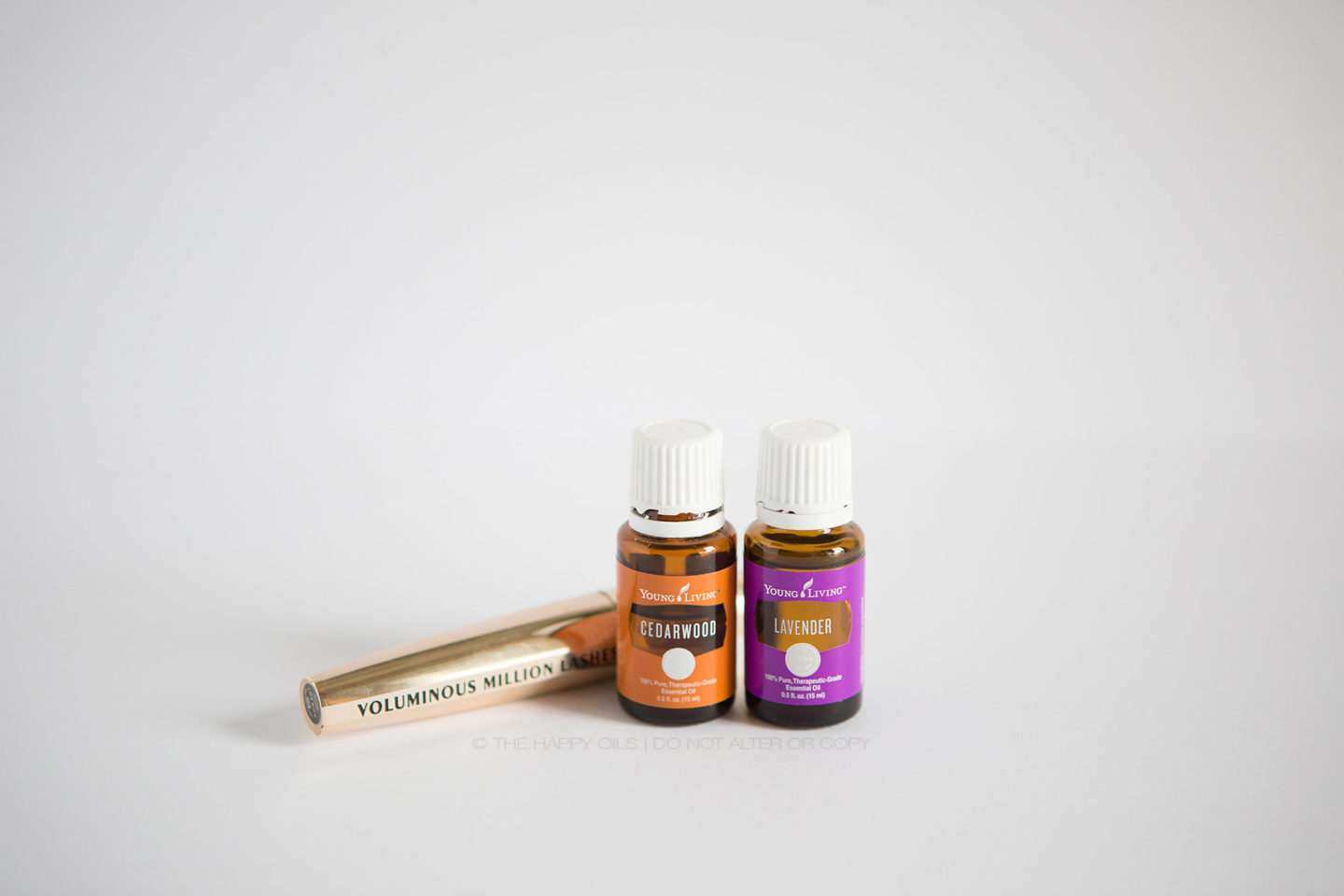 Lush lashes with essential oils
